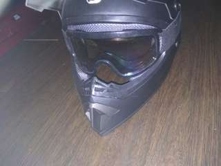 Full face Helmet size: L