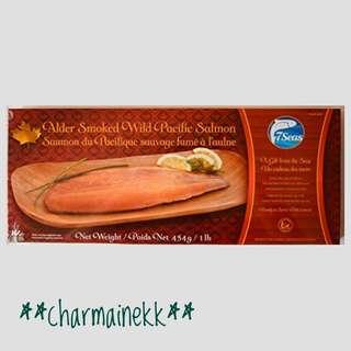 [七海]加拿大 🇨🇦 木薰野生太平洋三文魚(一磅裝) [7Seas] Canada 🇨🇦 Alder Smoked Wild Pacific Salmon(1lb)