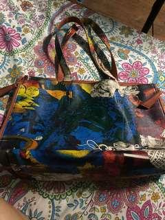 Authentic Alberto Reversible Bag