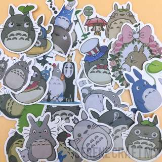 Set of 38pcs Totoro My Meighbor Sticker Pack