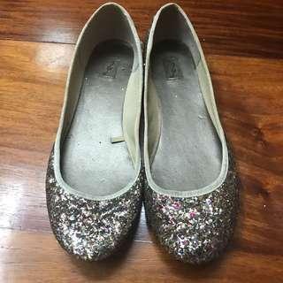 [STRADIVARIUS] Glitter Flats