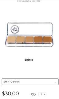 RMCA SHINTO FOUNDATION PALETTE #July50