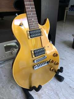 THE HERITAGE 140 GOLD TOP (USA- ORIGINAL KALAMAZOO FACTORY  (1994)