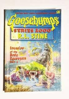 Goosebumps - series 2000