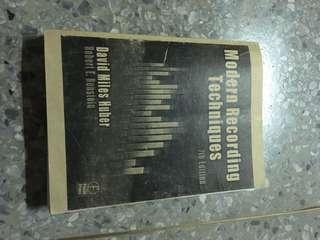 🚚 Modern recording techniques 7th edition