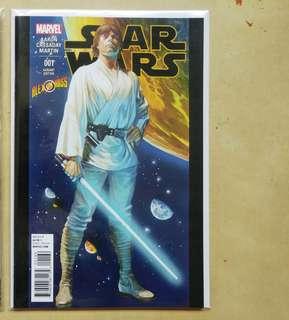 Star Wars #1 Luke Skywalker Alex Ross variant