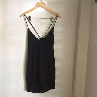 Black 2-Way Party Dress