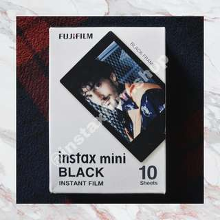 Instax Film - Black