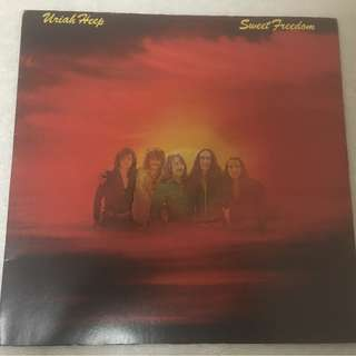 Uriah Heep ‎– Sweet Freedom, Vinyl LP, Island Records ‎– ILPS 9245, 1973, UK