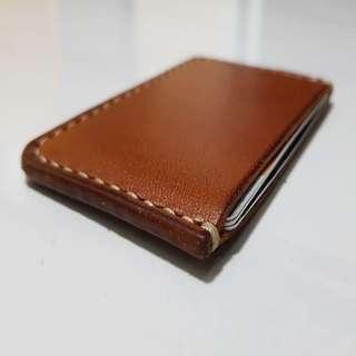 Minimalistic Leather Cardholder (Handmade)