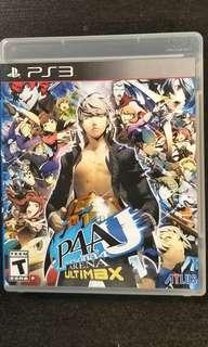 PS3 Persona 4 Arena Ultimax P4AU
