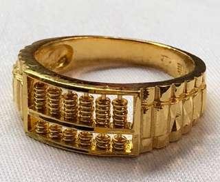 (Lovely Gold 916 - gold rings) + (Gold 999 bracelet) ✅✅