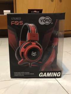 Stereo FOS YORO Gaming Headphones