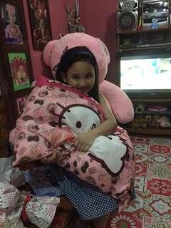 Sale!Hello Kitty king pillow #FlytoSG