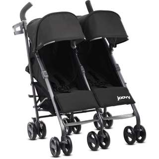 Twin groove ultralight twin stroller