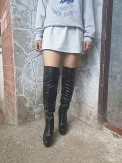 Thigh High Boots with Heels