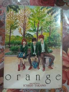 ORANGE by Takano Ichingo Vol.1 and 2
