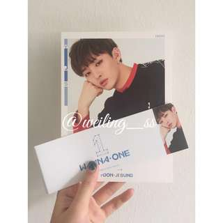 [WTS] Jisung <To Be One> Sky ver Postcard+sleeve