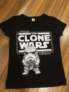 STAR WARS shirt for 2-3yearsold