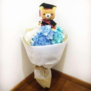 Graduation Rilakkuma Bouquet