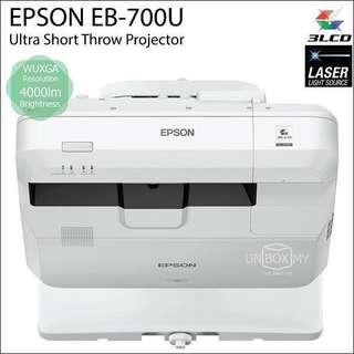 Epson short throw projector EB-700U 短投 投影機
