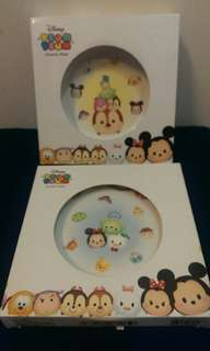 Disney Tsum Tsum 7吋 Ceramic Plate 陶瓷碟