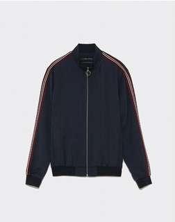 Jacket Zara Original Limited Stock With Stripes