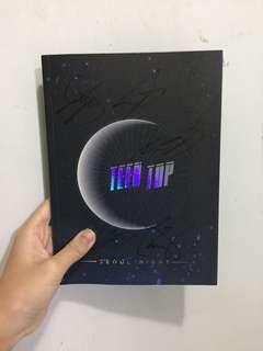 Teentop 親筆簽名CD SEOUL NIGHT