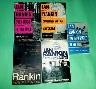 Ian Rankin book bundle