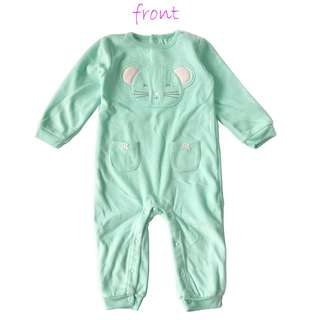 Carter's Fleece Pajamas Jumpsuit