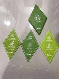 Limited edition Raya packets