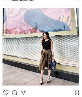 BORA COLLECTION Bali Skirt Khaki