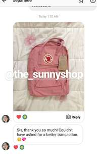 Feedback for Authentic Fjallraven Kanken Classic