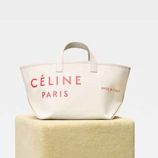 Celine SMALL MADE IN TOTE IN TEXTILE 代購