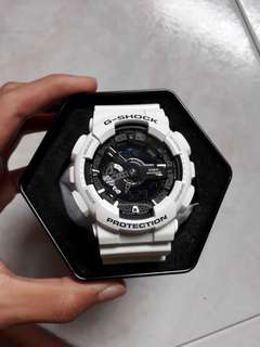 G Shock Limited Edition Ga110 White Pink Camouflage Watch