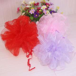 Ribbon: Organza Pew Bows-Wedding Car Decoration-Opening Ceremony Red Bow