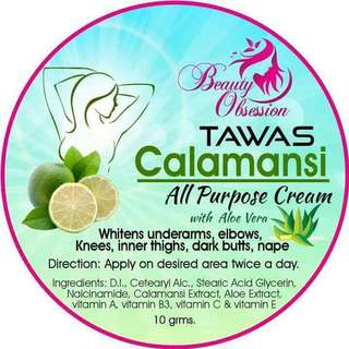 Tawas Calamansi All Purpose Cream w/ Aloe Vera