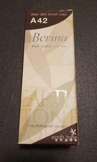 Hair color cream - deep dark brown A42