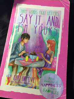 Wattpad Books: Say It and I'm Yours 1