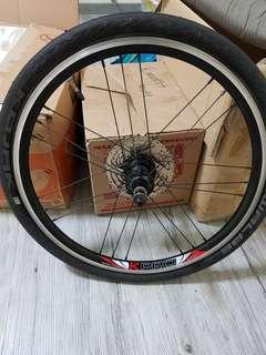 Litepro ultralite  wheelset 406