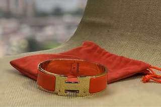 NON Authentic Hermes Clic Clac bracelet