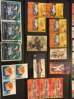 全新 蓋銷 郵票