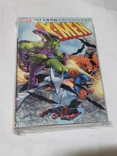 X-MEN INFERNO CROSSOVERS HARDCOVER MARVEL COMICS