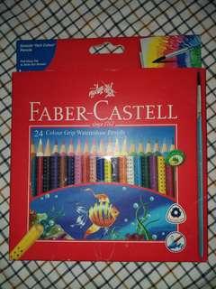Faber Castell Watercolor Pencils (24)