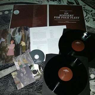 "Motorpsycho and Ståle Storløkken ""En Konsert For Folk Flest Vinyl LP Record"