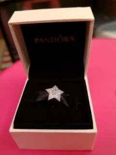 🚚 Pandora Charm _Stars with crystal