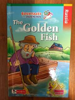 Robin Folktales from around the World The Golden Fish Hardback Hard cover