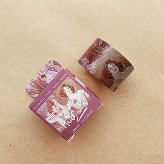 CardLover Mucha Washi Tape (3 cm x 7 m)