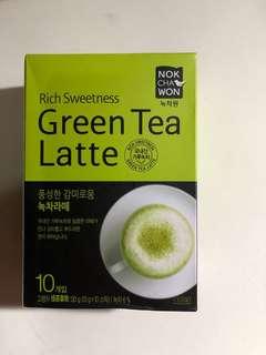 Nokchawon green tea latte 韓國購入 抺茶粉