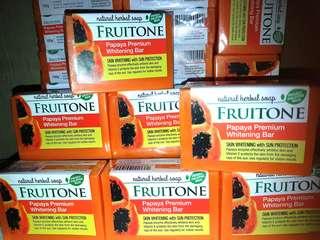 FRUITONE Premium Whitening Herbal Soap